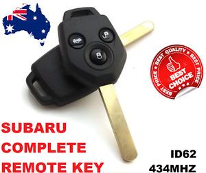 Transponder Remote car key suitable for Subaru Forester  2008 2009 2010