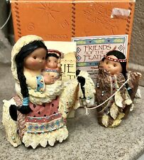 Enesco Friends Of The Feather Chosen People Nativity Figurines Mary Joseph Jesus