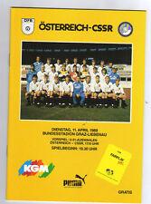 ORIG. prg 11.04.1989 Austria-kucera rara vez!!!