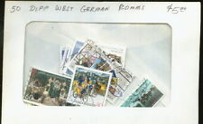 PACKET 50  DIFFERENT WEST GERMAN COMMEMORATIVE STAMPS