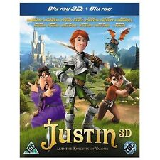 Justin and the Knights of Valour (Blu-ray 3D), DVD | 5030305517090 | New