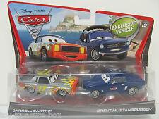 Disney PIXAR Cars 2 - Darrell Cartrip & Brent Mustangburger Vehicles - Ages 3+