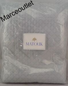 Matouk Nadia 500 Thread Count Egyptian Cotton FULL / QUEEN Coverlet Pool