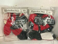 Lot of 2 VanderBear Outfits for Alice & Cornelius ~ FURRIER & IVES     (M508)