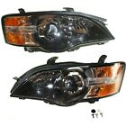 Headlight Set For 2005 Subaru Outback Left and Right With Bulb 2Pc