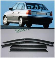 For Opel Astra F Sd 5d 1991-1998 Window Visors Sun Rain Guard Vent Deflectors