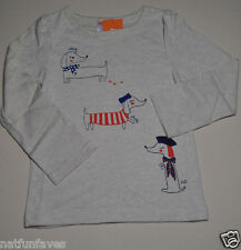 Gymboree baby girl 6-12 months NWT puppies stay shake sit  tee shirt top beige