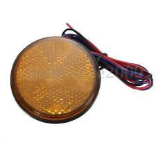 1pcs LED Round Reflector Rear Tail Brake Stop Marker Light Truck 12V For Corolla