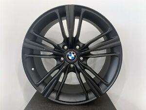 18 inch Matte Black Rims fits BMW 535d xDrive 2014 - 2016 set(4 wheels)