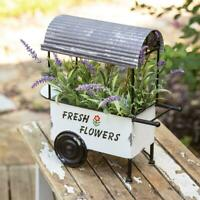 Fresh Flowers Cart All Metal