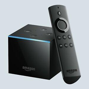 Brand New Fire TV Cube Box Alexa 4K Ultra HD Steaming Media With Free Plex Media