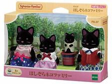 Sylvanian Families STARRY SKY CAT FAMILY Black FS-37 2020 Japan
