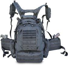 Assault 3-Day 72 Hours Survival Pack Backpack BLACK COLOR Ultimate Tactical Pack