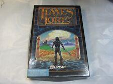 Times Of Lore ORIGIN Game for IBM PC/Tandy 5.25 disk Big Box