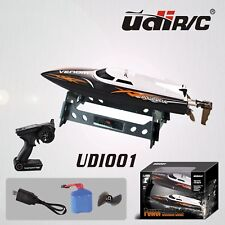 Udirc RC Boat 2.4GHz Remote Control High Speed RC Electric Boat Black