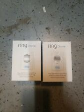 Ring Doorbell Plug Wireless Chime Receiver new lot of 2