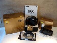 """Nikon DSLR - Nikon D80 Kamerabody/Gehäuse Fullset """"Sammlerstück"""" - TOP!"""