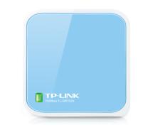 TP-Link TL-WR702N 150 Mbps 1-Port 10/100 Wireless N Nano Router - White/Blue