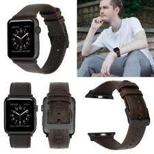Apple Watch Genuine Leather 42mm Strap Breathable Durable Fashion Sport Band