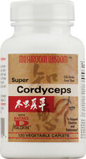 Super Cordyceps, Maitake, 120 capsule