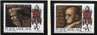 Vatican City Stamps Scott #630 To 631, Mint Never Hinged