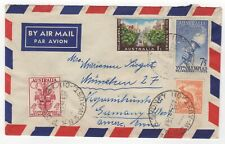 1957 Feb 14th. Air Mail. Sydney to West Germany. Olympic Issues.