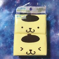 NEW Sanrio Pompompurin Can be poured into the water Pocket Tissue 4P DAISO JAPAN