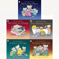 Large Family Collections 5 Books Collection Set by Jill Murphy BRAND NEW PB SET