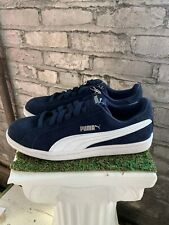 New PUMA Men's Suede Smash Sneakers Casual Shoes Athletic Navy Blue Pick Size