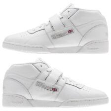 7c89c91f89874 Men s Reebok Workout Clean Mid Strap Athletic Training Shoes