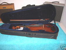 Viola with case & bow  this was regraduated in 2005  Spruce & ebony good cond.