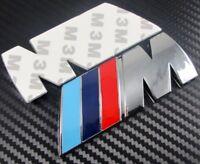BMW M Sport M Performance M Tech Silver Badges Sticker UK Seller Quality Promise