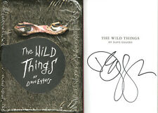 Dave Eggers SIGNED AUTOGRAPHED The Wild Things FUR HC 1st Ed 1st Print Brand NEW