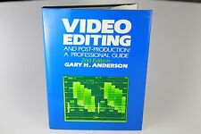 Video Editing and Post Production: A Professional Guide 2nd Edition