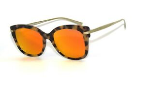 Michael Kors 2047 32446Q Dark Tortoise Red Mirror Sunglasses MK2047
