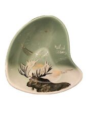 MATTHEW ADAMS BOWL Signed Moose Alaska