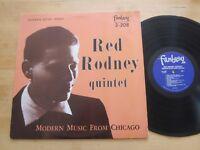 Red Rodney Quintet - Modern Music From Chicago LP Fantasy OJC Ultrasonic Cleaned