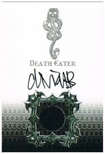 DE5 Deatheater Death Eater Auto Costume Card New Goblet of Fire MM Harry Potter
