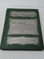 JDN ALBUM GEOGRAPHIQUE - Marcel Dubois et Camille GUY - 1899 Armand Colin édit.