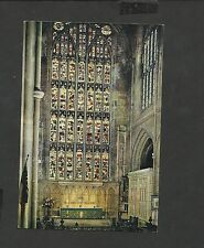 J.Arthur.Dixon Colour Postcard Bath Abbey Alter and Great East Window unposted