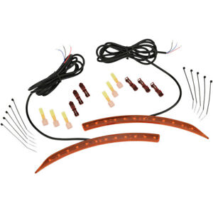 Show Chrome Front Fender LEDs - Can-Am - Amber | 41-187
