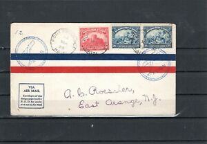 Haiti Flight cover -   unlisted - PaP to San Juan -  3/14/28