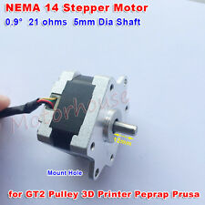 NEMA 14 Stepper Motor 2-Phase 4-Wire CNC for 5mm pulley 3D Printer RepRap Prusa