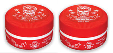 2 x Bandido Aqua Hair Gel Wax Red - 150ml - Maximum Hold Pomade - Strawberry