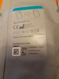 1 x Beinbeutel 750 ml und 5 x Speedicath Flex für Männer, Ch 12 / 4 mm