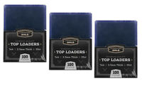 75 Ultra CBG Pro 100pt 3x4 Toploaders Premium Card Top Loaders Thick Jersey New