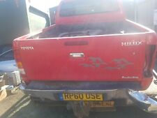 2006-2010--TOYOTA HILUX INVINCIBLE TAILGATE COMPLETE RED