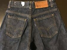 Vintage NWOT 70s Levi's Pacific Pride Girls Blue Jeans Made In USA 23 Inch Waist
