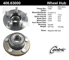 Wheel Bearing and Hub Assembly-RWD Front Centric 406.63000E