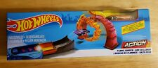 New Hot Wheels Track Flame Jumper Playset By Mattel. Free shipping